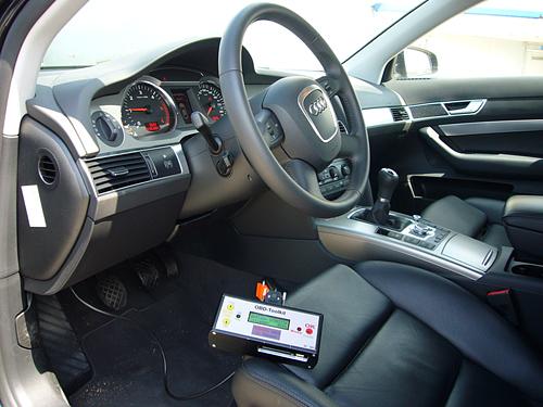 OBD Chiptuning chip van Audi uitlezen